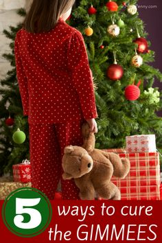 These are some great ways to keep your kids from getting greedy during the holidays. I love #4!