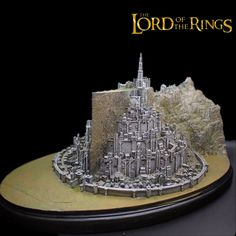 New Lord of the Rings Return of the King Minas Tirith MinasTirith Sculpture Statue Collectible Feature: MinasTirith Statue Colection. Size: H Plastic: Resin Package: Polyfoam bag. Enter the greatest city of Gondor,. Radagast The Brown, White Tree Of Gondor, Minas Tirith, City Model, An Unexpected Journey, Lord Of The Rings, Lord Rings, White City, My Precious