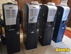 Saeco SG Electronic Gourmet Coffee Vending Machines for Sale in Virginia! Vending Machines For Sale, Coffee Vending Machines, Nescafe, Keurig, Drip Coffee Maker, Virginia, Money, Gourmet, Silver