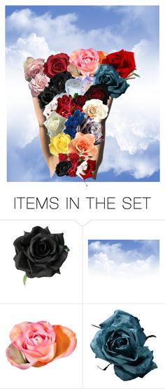 """""""flowers in my hands or flower  rain ❤"""" by gabija15 ❤ liked on Polyvore featuring art"""