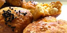Greek Recipes, Bon Appetit, Baked Potato, Muffin, Appetizers, Pizza, Cooking Recipes, Snacks, Breakfast