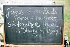 """A cuter way of saying """"pick a seat, not a side"""". @ Wedding Day Pins : You're #1 Source for Wedding Pins!Wedding Day Pins : You're #1 Source for Wedding Pins!"""