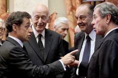 Le journal de BORIS VICTOR : Les ex-présidents de la République coûtent   près ... Ex President, French President, Nicolas Sarkozy, First Ladies, Movie Magazine, Art History, Obama, Presidents, Face