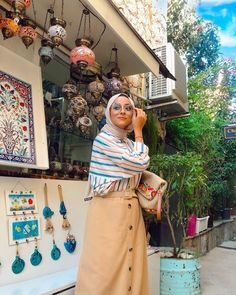 Image may contain: one or more people and people standing Hijab Fashion Summer, Hijab Outfit, People, Image, Outfits, Beautiful, Instagram, Style, Swag