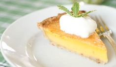 Treat yourself to the taste of summer with this easy to prepare lemon chess pie. With cold weather on its way, I am sure that I will be spending more time