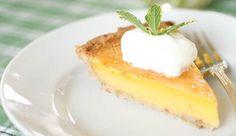Lemon Chess Pie from P. Allen Smith