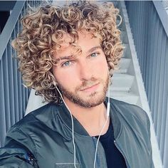In this post i will writing about men wavy and curly hairstyles. As you know it is very difficult to model curly hair. (Because I am curly hair too) Curly Hair Styles, Curly Hair Cuts, Hair And Beard Styles, Long Curly Hair Men, Perfect Curls, Boy Hairstyles, Stylish Hair, Hair Looks, Long Hair Styles