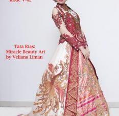 Model Baju Muslim Kebaya Pesta Modern Unik