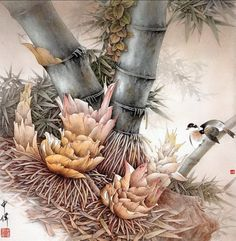 Image detail for -Chinese Painting by Shen Wei   Art Pictures