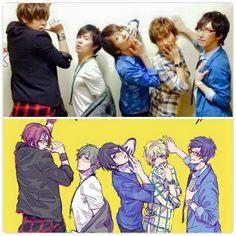 seiyu vs anime XD