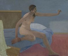 Lennart Anderson Seated Nude