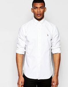 Image 1 of Polo Ralph Lauren Oxford Shirt In Custom Regular Fit