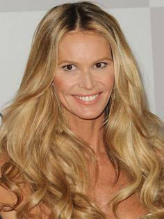 And the best blonde award goes to Elle Macpherson's glossy caramel color.