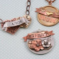 Learn how to bend your banner blanks and add some 3D to your hand stamped jewelry pieces!