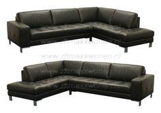 Loungebank zwart
