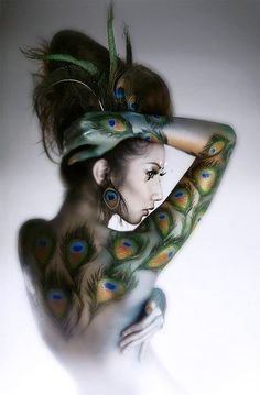 #tinydancer_inc Peacock woman