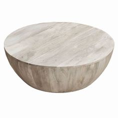 Mango Wood Coffee Table - The Urban Port : Target Mango Wood Coffee Table, Drum Coffee Table, Round Wood Coffee Table, Coffee Table Design, Wooden Textures, Wood Rounds, Center Table, Brown Wood, Dark Brown