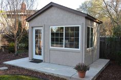 Tuff Shed | Down to Business With This Backyard Office