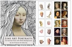 I've made a collection of portrait faces that have their background erased, for black and white doodling fun. It's great for fine motor skill practice, and is a good example of contrast when complete. My pdf file includes a thumbnail page, followed by ten pages of faces: 5 women, 4 men and one child. You can … Read More