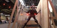 Push It to The Limit Robot - http://www.theladbible.com/videos/push-it-to-the-limit-robot