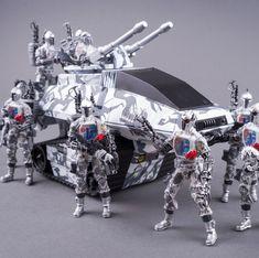 Gi Joe Vehicles, War Pigs, Steampunk Weapons, Gi Joe Cobra, Action Toys, Transformers Toys, Deathstroke, Custom Action Figures, Buzz Lightyear