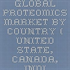 Global Proteomics Market By Country ( United State, Canada, India, Cjina, Japan, Inited Kingdom), Company Profiles, Share, Trends, Analysis, Opportunities, Segmentation And Forecast 2015, 2021 Now Available at iData Insights | iData Insights