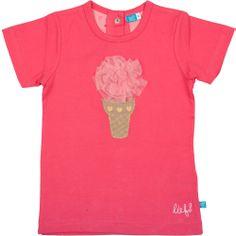 Shirt met ijshoorn van Lief! www.blauwlifestyle.nl