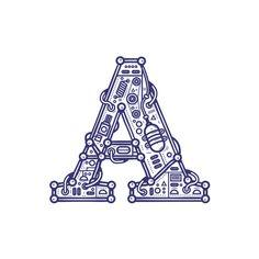 Mechanic typography on Typography Served