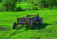 Old wagon in Pipestone, Minnesota...photo by Cyn...June 15' 2014