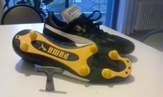 MARADONA SCARPE PUMA 1982 shoes football boots calcio vintage old napoli ennerre | eBay