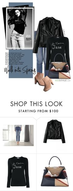 YesStyle - Spring Fashion by beebeely-look on Polyvore featuring Bella Freud, Chicsense, Reneve, Fendi, Styleberry, women's clothing, women's fashion, women, female and woman