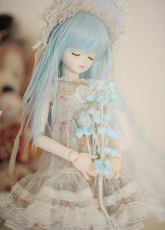 The Sensual Starfish Bjd Dolls, Doll Toys, Beautiful Dolls, Beautiful Outfits, Cute Japanese, Japanese Things, Custom Barbie, Real Doll, Purple Baby