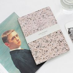 STONE NOTEBOOK - Pink marble by Dear Maison www.dearmaison.com #stonenote #marblenote #notebook #dearmaison #Pinkmarble #designitem #marble #simple