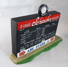 Ebbets Field Scoreboard Department 56 Christmas in the City Series NEW Dept. Box