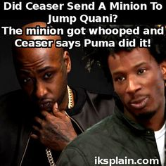 Black Ink Crew: Did Ceaser send a minion to fight Quani and then blame Puma?