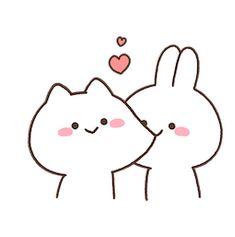 Easy Doodles Drawings, Cute Bear Drawings, Cute Little Drawings, Simple Doodles, Cute Doodles, Cute Bunny Cartoon, Cute Cartoon Images, Cute Love Cartoons, Cute Cartoon Wallpapers