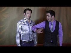 Can Drew Scott or Jonathan Scott Do More Push Ups? See a Friendly Property Brothers Competition! - YouTube