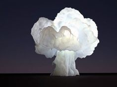 Hmm, not sure about this: nuke lamp - how amazingly cool is this? #homesweethome