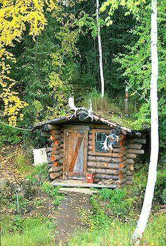 picture of Wilderness Log Cabin Fairbanks Alaska Image