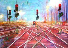 Symboliquement la voie ferrée image la trame de la destinée - ©Didier Paquignon