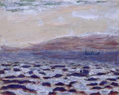 Saint-Tropez   -   Pierre Bonnard  French 1867-1947  Gouache - 25 x 31 cm