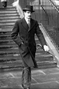 British politician Anthony Eden looking dapper - although of course everyday wear to him