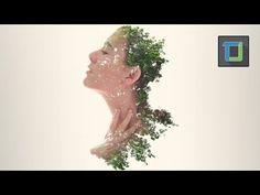 Double Exposure Photoshop Action - Tutorial - YouTube