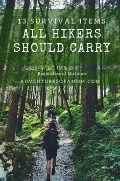 Survival Gear all Hikers Should Carry - hiking tips