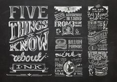 Sydney, Australia-based designer Olivia King has a profound love for ink. So much so that she developed this multi-page, hand-drawn infograp...
