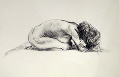 From life drawing class, Plymouth College of Art