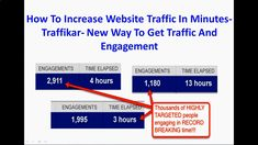 How To Increase Website Traffic In Minutes- Traffikar- New Way To Get Traffic And Engagement: yoursuccesslife.c...