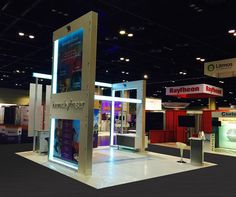 Exhibition Stands In Orlando : 24 best 20x20 trade show rental booths live show images images