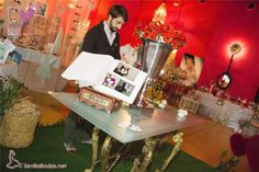 Juanma de LA BUGANVILLA, en el maravilloso espacio que creó en #Wedding Aljarafe.