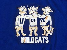 Retro Vintage Pendleton Wool University Of Kentucky Wildcats Stadium Blanket!